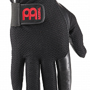 MEINL MDG-M Drummer Gloves, black, medium, pair