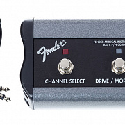 FENDER 2-Button 3-Function Footswitch: Channel / Gain / More Gain with 1/4` Jack