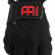 MEINL MDGFL-L Drummer Gloves, finger-less, black, large, pair